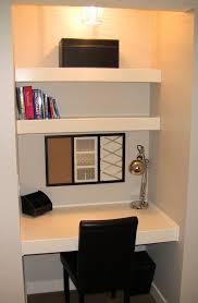 Smallest Computer Desk Best 25 Desk Nook Ideas On Pinterest Kitchen Office Spaces