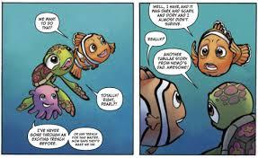 comic review finding nemo 3 fandomania