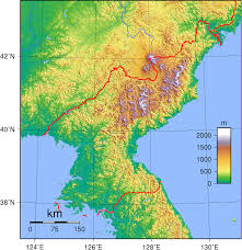 Asia Geography Map Geography Of Korea Wikipedia