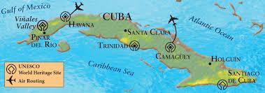 Cuban Map Island Life Cuba