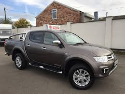 mitsubishi l200 2015 mitsubishi l200 2 5 di d 4x4 barbarian lb dcb for sale in wigan
