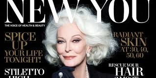 haircut for a seventy year old lady 83 year old supermodel carmen dell orefice on scoring another