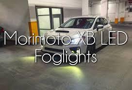 morimoto xb fog lights morimoto xb led foglights 2016 subaru wrx youtube