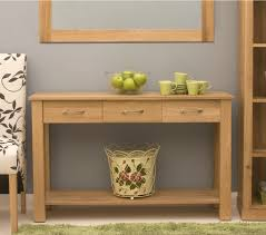 modern console table with drawers