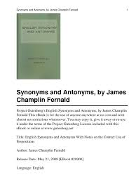 synonyms and antonym luck language