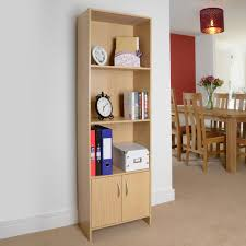 Bookcase Storage Units Christow 3 Tier Storage Unit With Doors Available At This Is It