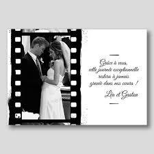 remerciement mariage original carte de remerciement mariage photo cr007 vente achat d