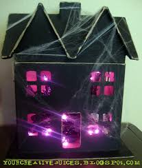 cardboard haunted house ideas