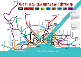 Metro Station Map Dc by Future Istanbul Metro Map 2019 Raillynews Dailly Railway News