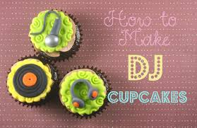 how to make dj cupcake toppers bake happy