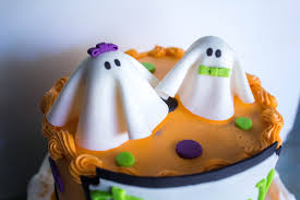 Hello Kitty Halloween Cake by Baby Shower Grace Ful Cakes