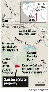 San Jose State University Campus Map by San Jose State Sells 228 Acres To Open Space Authority U2013 The
