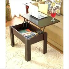 narrow end tables with storage side tables side table storage l tables with storage storage