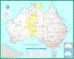 atlas map of australia australia map in atlas 55 images australia road map road map