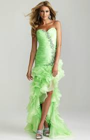 buy tailor made fits perfectly sweetheart organza high low lime