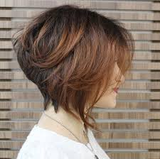 one side stack sassy bob bllack hair 30 short hairstyles to rock this summer easy everyday hairstyles