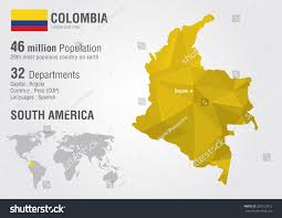 Columbia South America Map Location Of The Colombia In The World Map Colombia Location Map