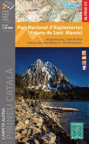 d馗orer bureau aigüestortes i estany de sant maurici national park 2 map set