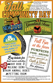 fall community day u2014 greenlands farmgreenlands farm store