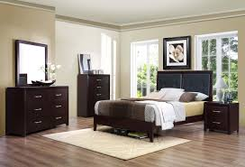 Bedroom Collections Furniture Homelegance Edina Bedroom Set Brown Espresso B2145 Bed Set