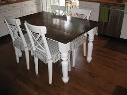 white farmhouse kitchen table farmhouse kitchen tables dosgildas com