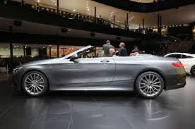 mercedes benz s class cabriolet interior revealed