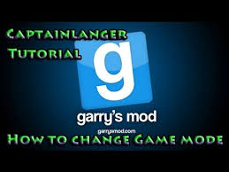 game modes garry s mod garry s mod tutorial how to change game mode youtube