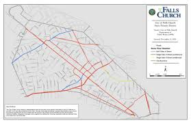 Map Of Virginia Cities Snow Emergency Routes Falls Church Va Official Website