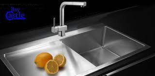 kitchen stainless steel sinks lovely designer kitchen sinks stainless steel cream granite
