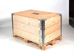 nefab introduces environmentally friendly logpak pallet collars in