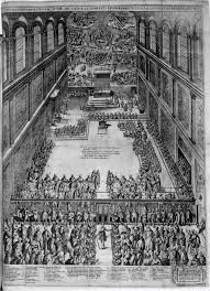 architecture and music in fifteenth century italy figure 18 9 Etienne duperac interior of the sistine chapel engraving 1578