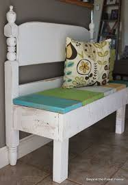 make this adjustable shoe storage bench with free plans from http