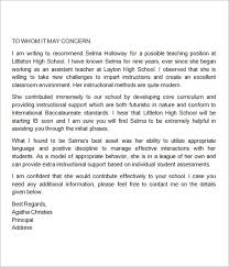 collection of solutions writing letter of recommendation for