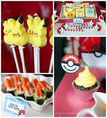 I Choose You Pikachu Throw A Pokemon Party B Lovely Events