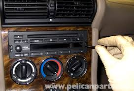 bmw z3 radio removal and replacement 1996 2002 pelican parts