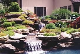 Rock Garden With Water Feature Water Features Hickory Hollow Landscapers