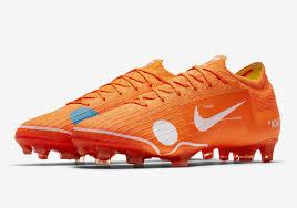 Nike Vapor virgil abloh white nike vapor 12 elite se fg orange cleats