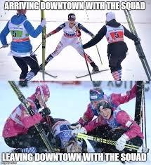 Skiing Memes - cross country ski memes home facebook