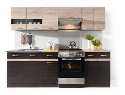line 240 kitchen set wenge sonoma polish black red white