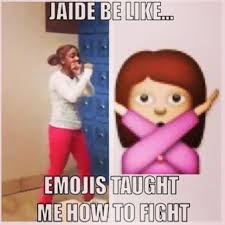 Jaide Meme - bully gets owned by victim in jaide fight video