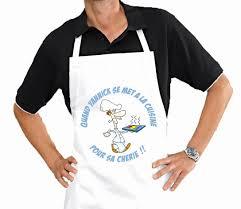 tablier de cuisine personnalisé pas cher tablier personnalisable pas cher avec tabliers torchons et