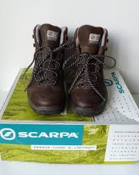 womens boots gumtree scarpa terra gtx brown leather outdoor trek climb mountain