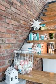 Wohnzimmer M El Planer Diy Papiersterne Papiersterne Drahtkorb Und Treppe
