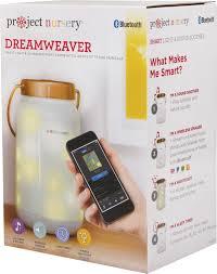 night light sound project nursery dreamweaver smart light sound soother white pnj50