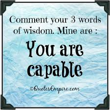 3 word wisdom quotes empire