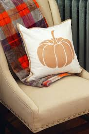 halloween pillows diy painted pillow with braided trim
