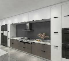 light grey acrylic kitchen cabinets white and grey acrylic kitchen with two tone edge banding acrylic kitchen cabinet door and blum hinge slider