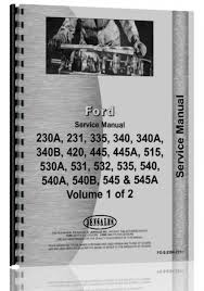 ford 545 industrial tractor service manual