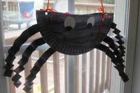 halloween paper plate crafts play with me paper plate spider