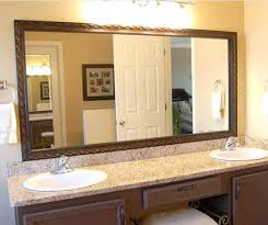 Bathroom Mirror Frames Kits Bathroom Mirror Trim Kit Psart Co